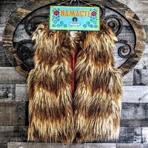 Faux Blonde LEO Fur DOPE AF Looks like a Lion 🦁